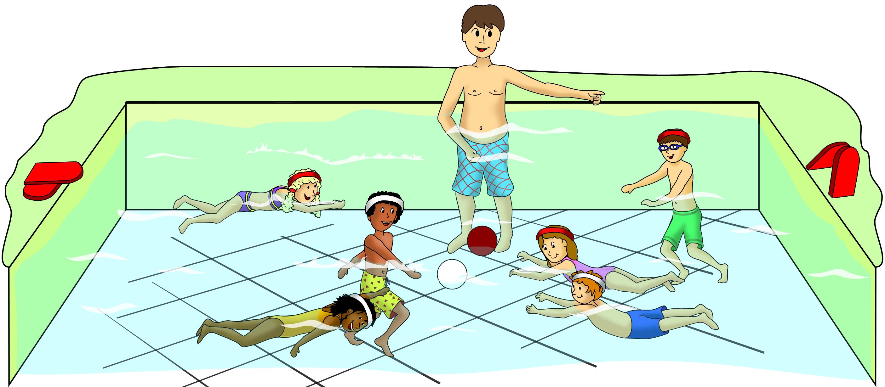 schwimmspiele für schwimmer