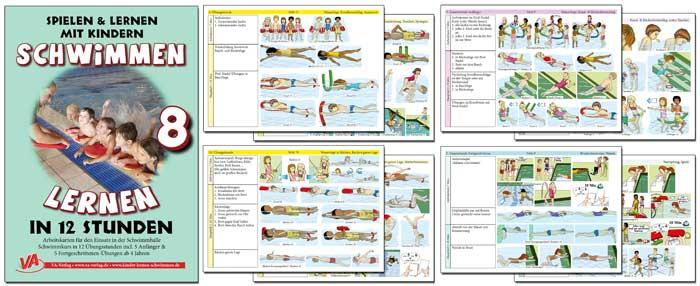 Schulschwimmen Kurs mit Vorgaben
